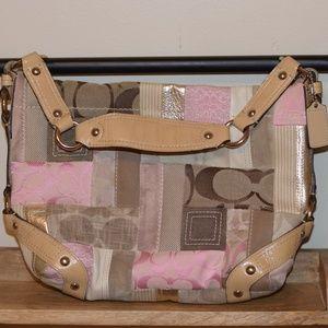 Coach Carly patchwork purse